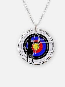 Archery & target 02 Necklace