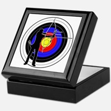 Archery & target 01 Keepsake Box