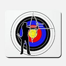 Archery & target 01 Mousepad