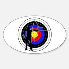 Archery & target 01 Decal