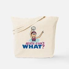 Water Polo Girl Tote Bag