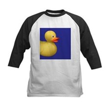 Yellow Rubber Duck on Blue Tee