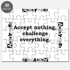 Accept Nothing - Anonymous Puzzle