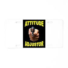 ATTITUDE Aluminum License Plate