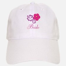 Pink and Purple Bride Hibiscus Flower Baseball Baseball Cap