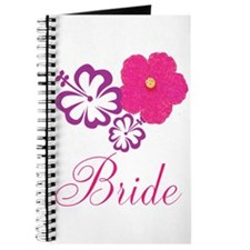 Pink and Purple Bride Hibiscus Flower Journal