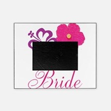 Pink and Purple Bride Hibiscus Flower Picture Frame