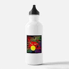drum and drummer Water Bottle