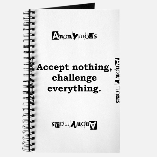 Accept Nothing - Anonymous Journal