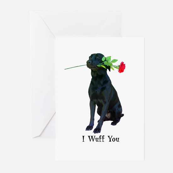 wuff-card Greeting Cards