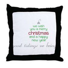 Good Tidings Throw Pillow