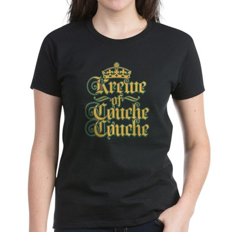 KoCC-CrownLogo-Gold Women's Dark T-Shirt