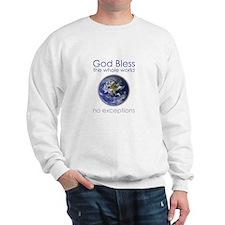God Bless the Whole World Sweatshirt