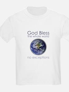 God Bless the Whole World T-Shirt
