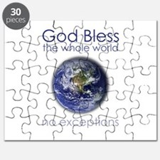 God Bless the Whole World Puzzle