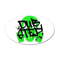 Dubstep Green Gas Mask Wall Decal