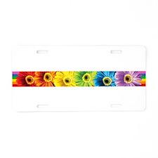 Cute Gay pride Aluminum License Plate