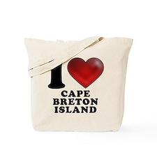 I Heart Cape Breton Island Tote Bag
