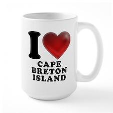 I Heart Cape Breton Island Mug
