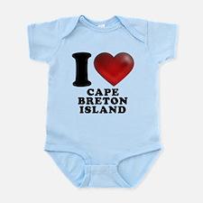 I Heart Cape Breton Island Infant Bodysuit