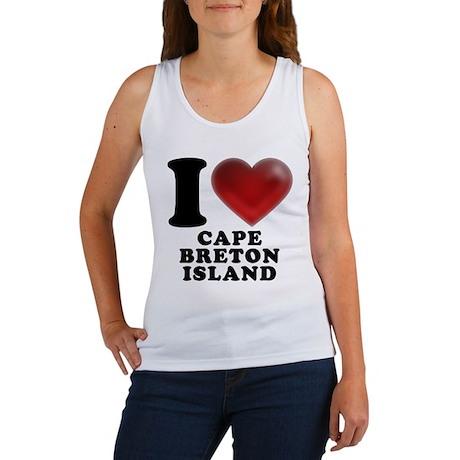 I Heart Cape Breton Island Women's Tank Top