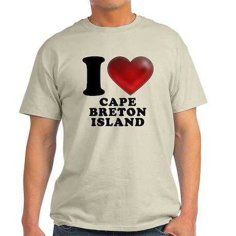 I Heart Cape Breton Island Light T-Shirt