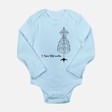 Sew Miracles Long Sleeve Infant Bodysuit