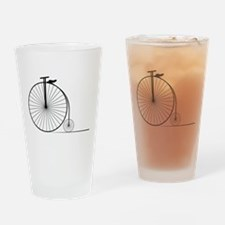 Antique Bike Drinking Glass