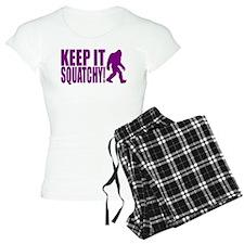 Purple KEEP IT SQUATCHY! Pajamas