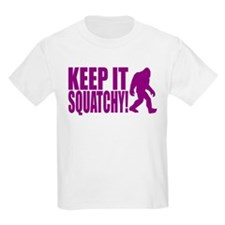 Purple KEEP IT SQUATCHY! T-Shirt