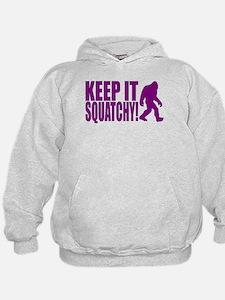 Purple KEEP IT SQUATCHY! Hoodie