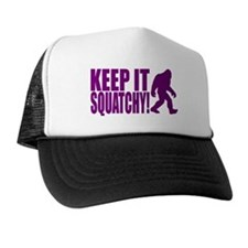 Purple KEEP IT SQUATCHY! Trucker Hat