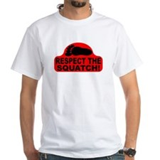 Red RESPECT THE SQUATCH! Shirt