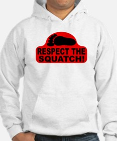 Red RESPECT THE SQUATCH! Hoodie