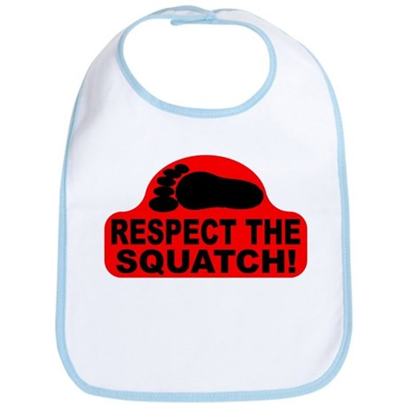 Red RESPECT THE SQUATCH! Bib