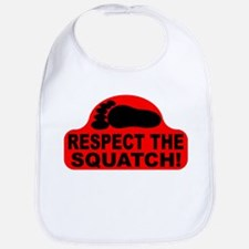 Red RESPECT THE SQUATCH! Bib