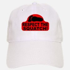 Red RESPECT THE SQUATCH! Baseball Baseball Cap