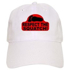 Red RESPECT THE SQUATCH! Baseball Cap