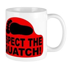 Red RESPECT THE SQUATCH! Mug