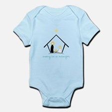 Away In A Manger Infant Bodysuit