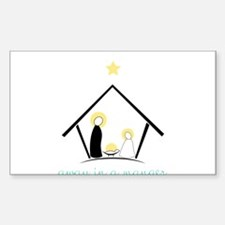 Away In A Manger Decal