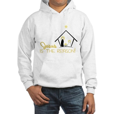 Jesus Is The Reason Hooded Sweatshirt