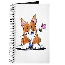 Corgi w/ Flower Journal