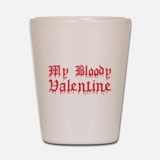 My Bloody Valentine Shot Glass