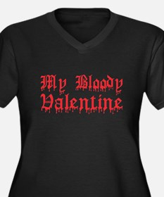 My Bloody Valentine Women's Plus Size V-Neck Dark