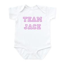 Pink team Jace Infant Bodysuit
