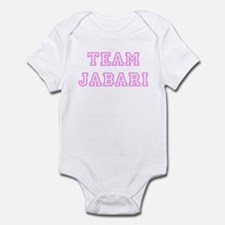 Pink team Jabari Infant Bodysuit