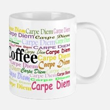carpe-diem-coffee Mugs