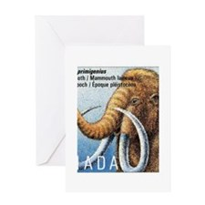 1994 Canada Woolly Mammoth Postage Stamp Greeting