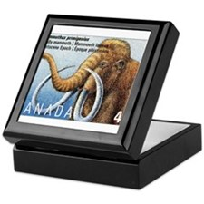 1994 Canada Woolly Mammoth Postage Stamp Keepsake